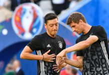 Thomas Müller Mesut Özil Nationalmannschaft