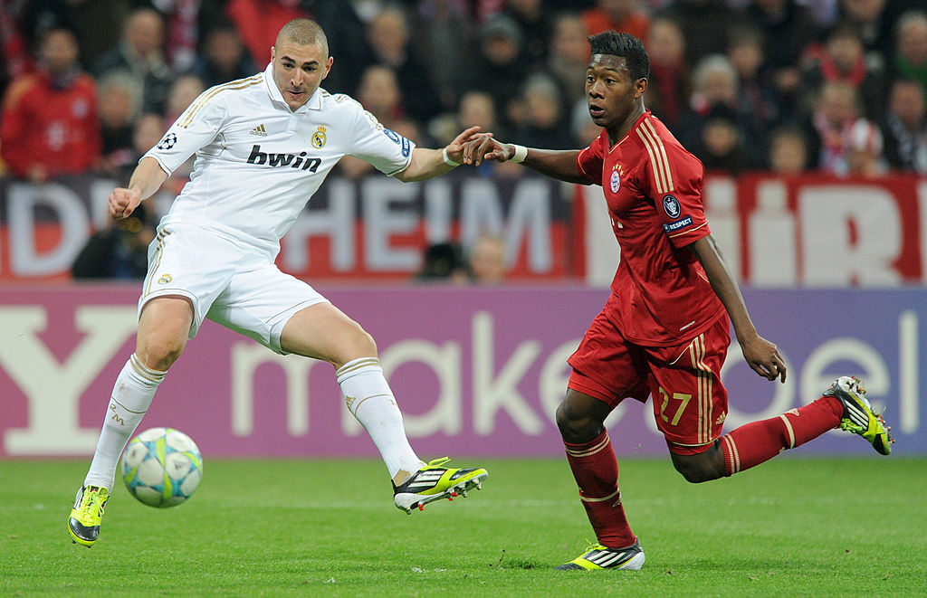 Karim Benzema und David Alaba FC Bayern Real Madrid